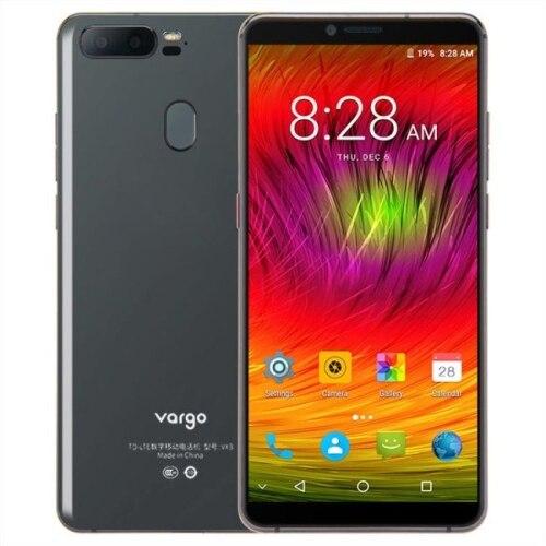 Original vargo vx3 5.7 polegada android 7.1 mtk6757 4g lte telefone móvel 6gb ram 128gb rom 3550mah rosto id 13.0mp nfc smartphone