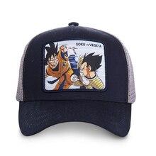 New Brand GOKU vs VEGETA Dragon Ball Snapback Cap Cotton Bas