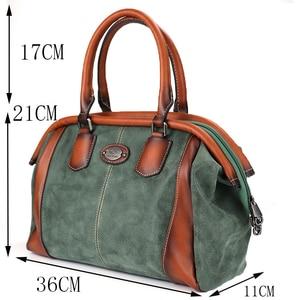 Image 2 - IMYOK Vintage Leather Womens Totes Luxury Hand Bags Ladies Designer Handbag Large Capacity Women Shoulder Bag Feminina 2020