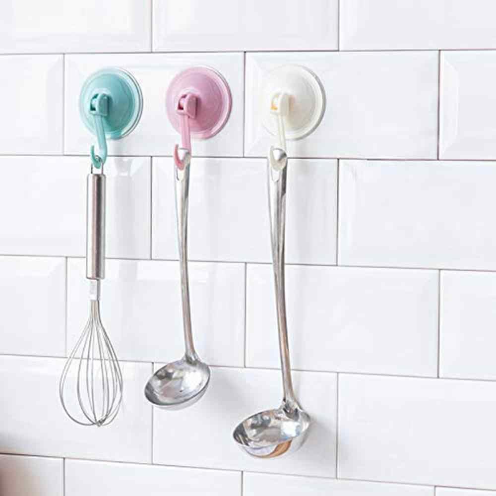 Ganchos de ventosa ganchos de toalla de cocina soporte de pared extraíble para azulejos de vidrio suave y espejo de moda