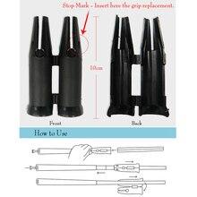 Пластиковая рукоятка для гольфа, инструмент для быстрой установки, подходит для большого вала, больших прикладок-гольф, инструмент для смены зажима