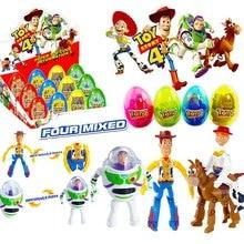 4pcs/set Toy Story Eggs Buzz Lightyear Woody Jessie Bullseye Action Figure Toys B643 цены