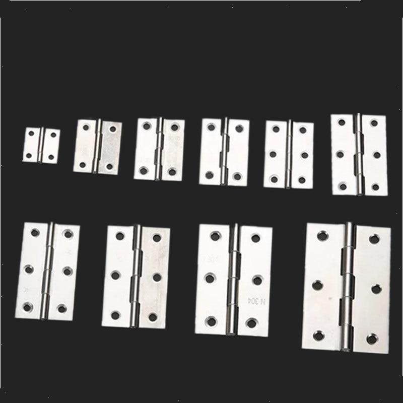 2pcs/set Stainless Steel Cabinet Door Hinge Boat Marine Cabinet Butt Hinge  1.5