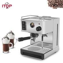 Itop электрическая Полуавтоматическая эспрессо машина с фильтром