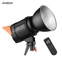 Andoer dl200pro cob led vídeo luz fotografia iluminação 200w 3200-5600k cri95 + bowens montagem refletor para estúdio vídeo tiro