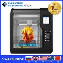 Flashforge 3D yazıcı 2020 yeni maceracı 3 otomatik tesviye makinesi çıkarılabilir yatak desteği bulut baskı W/1 makara