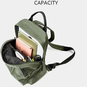 Image 4 - POMELOS Waterproof Women Backpack Fashion Backpack Women High Quality Fabric Roomy School Bag Travel Ladies Backpack Female