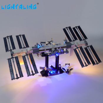 Lightaling Led Light Kit For Ideas Series International Space Station Toys Lighting Set Compatible With 21321 lightaling led light set for famous brand 10182 15002 make