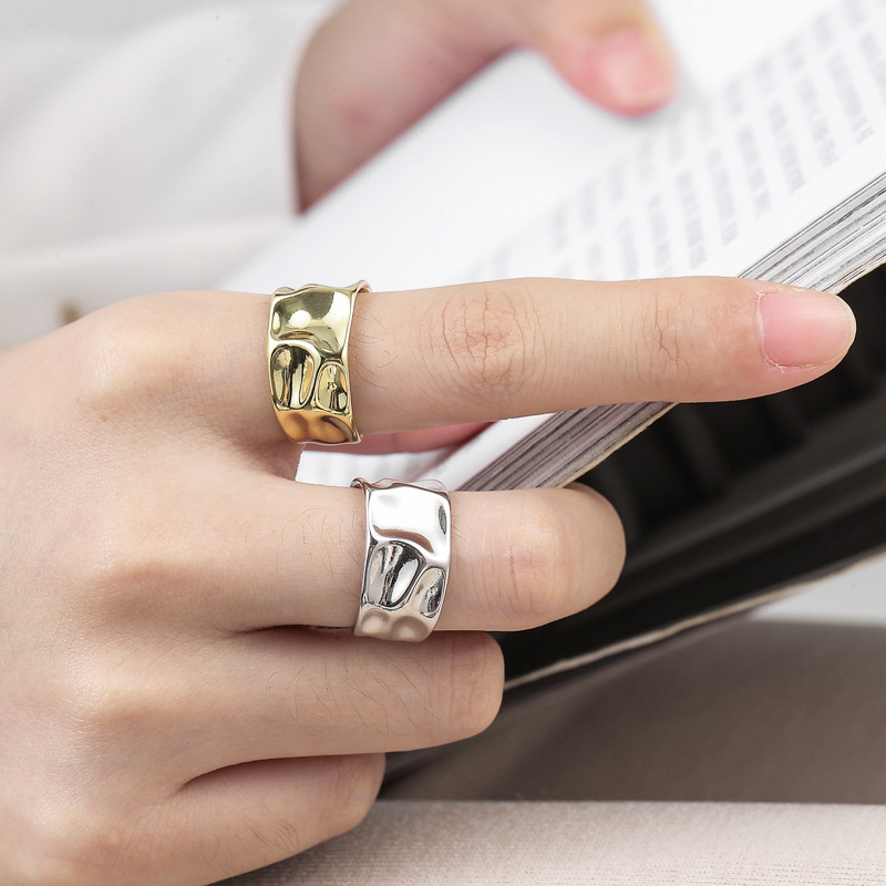 Anenjery-gold-silver-ring