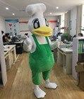 Cartoon Duck Mascot ...