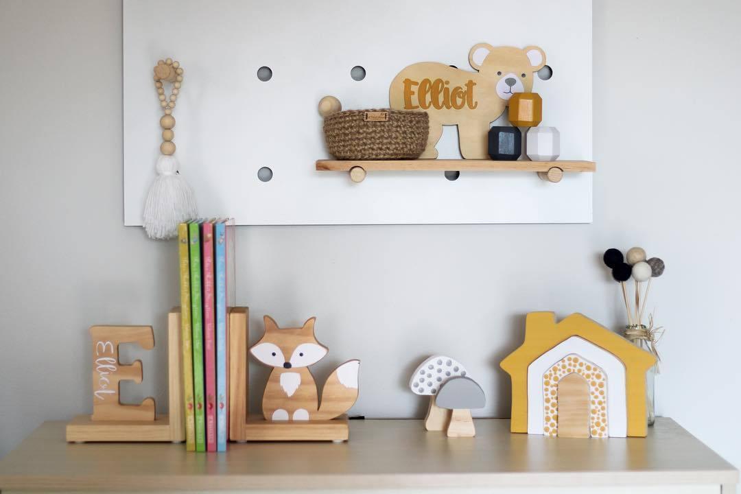 decoração diy presentes brinquedos da criança