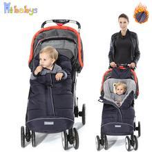 Зимний детский спальный мешок, детский кокон, спальные мешки, мягкий теплый конверт для новорожденных, спальные мешки для коляски с муфтой для ног для коляски
