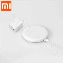 Oryginalna bezprzewodowa ładowarka Xiao mi 20W Max dla mi 9 (20 W) mi X 2 S/3 (10 W) Qi EPP kompatybilny telefon komórkowy (5 W) wiele bezpiecznych dropship