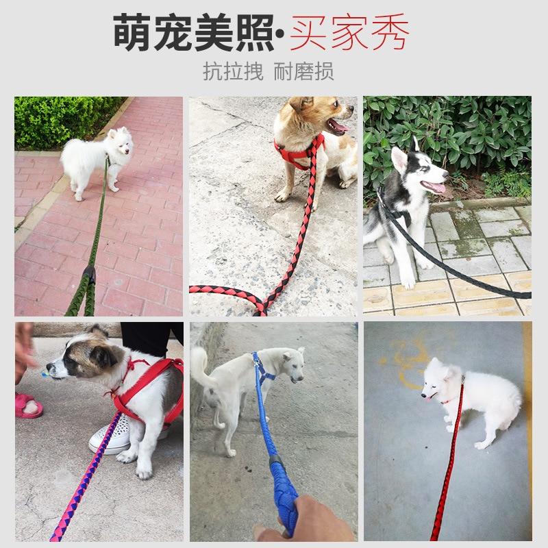 Dog Hand Holding Rope Large Medium Small Dogs Dog Rope Dog Chain Samoyed Golden Retriever Neck Ring Pet Supplies