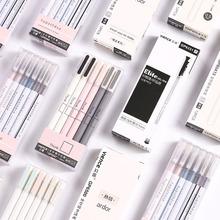 3 sztuk 0 5mm nowość długopisy żelowe śliczne proste długopisy Kawaii neutralne długopisy dla dzieci dziewczyny prezent szkolne materiały biurowe koreańskie piśmiennicze tanie tanio CN (pochodzenie) Żel atramentu Biuro i szkoła pen Normalne Gel Pen Set Z tworzywa sztucznego Black ink Pen Simple Neutral Pen