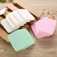 купить 20pcs/pack Makeup Sponge Powder Puff Soft Powder Puff Facial Puff Face Cleanse Washing Sponge for Beauty Cosmetic Puff Tool дешево