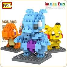 Loz qute bloco de diamante bonito blocos de construção brinquedos tijolos educativos figuras de ação brinquedos para crianças