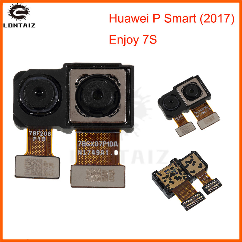 LTPro Original Best Quality Tested Working Main Big Rear Back Camera For Huawei P smart Mobile Phone Parts image