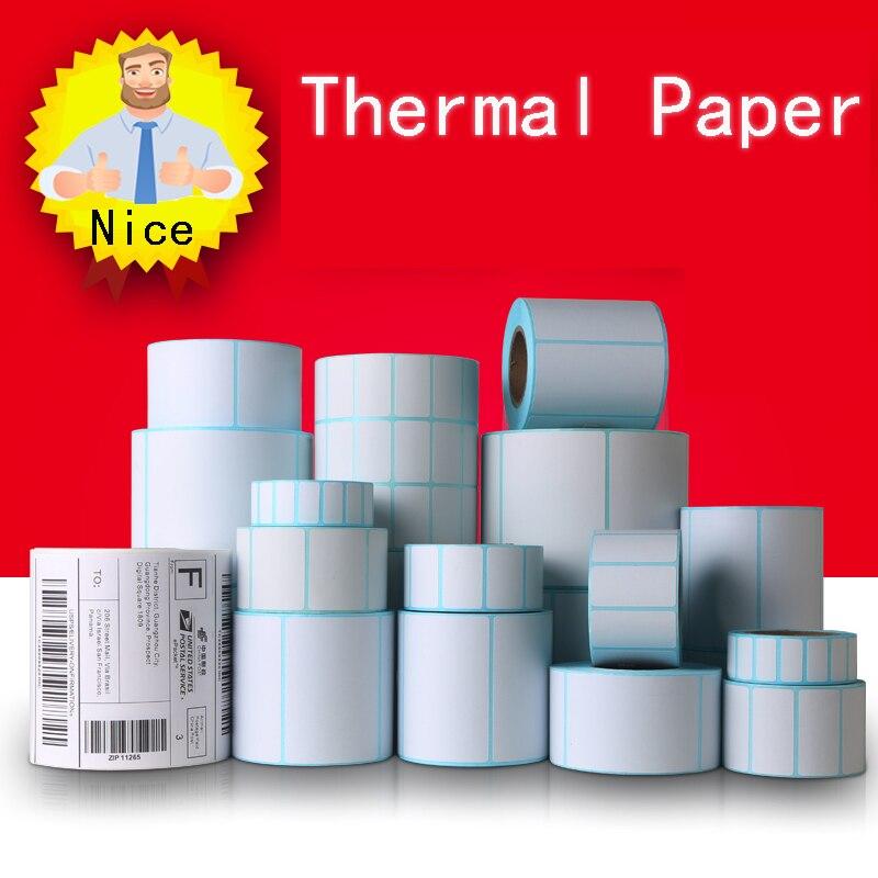 Self-adhesive label paper Thermal blank label paper Price Self-adhesive label paper direct printing Waterproof printing supplies