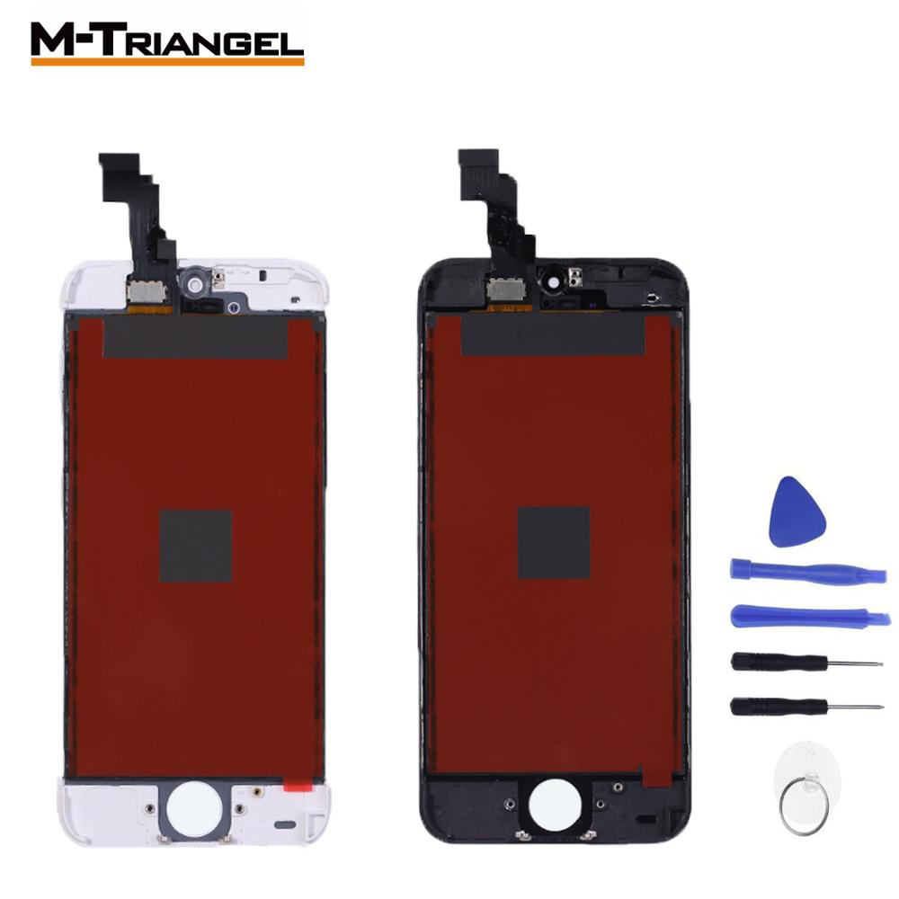 AAA+OEM Touch Screen For IPhone 5S 5C SE Glass For Iphone 6 Lcd 6P 6SP 7 8 LCD Screen Replacement Digitizer Assembly Repair