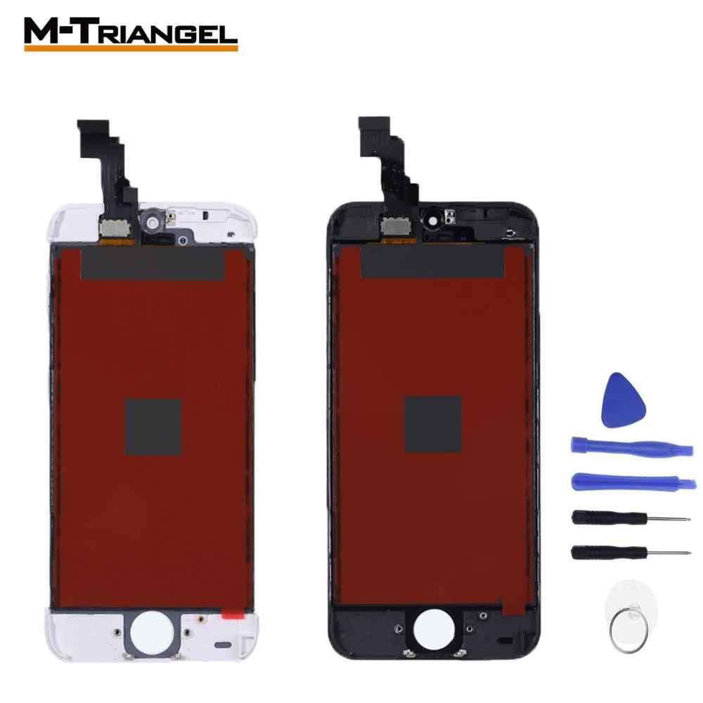 AAA + OEM شاشة تعمل باللمس ل iphone 5S 5C SE الزجاج ل iphone 6 lcd 6P 6SP 7 8 LCD غيار للشاشة الجمعية محول الأرقام إصلاح
