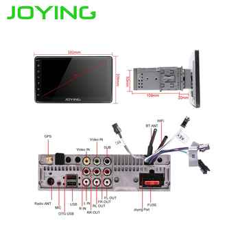 JOYING Single din 7\'\' Android 8.1 Car Radio stereo Quad Core Head Unit Multimedia NO DVD Player With Mirror Link