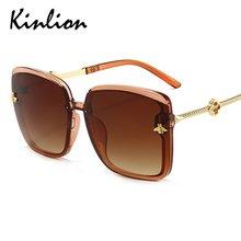 Очки солнцезащитные kinlion женские большие роскошные брендовые