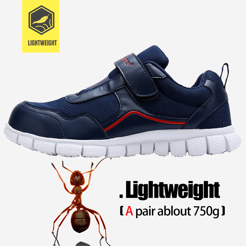 LARNMERN Men's Work Safety Shoes Steel Toe Anti-smashing Breathable Lightweight Construction Protective Footwear 3