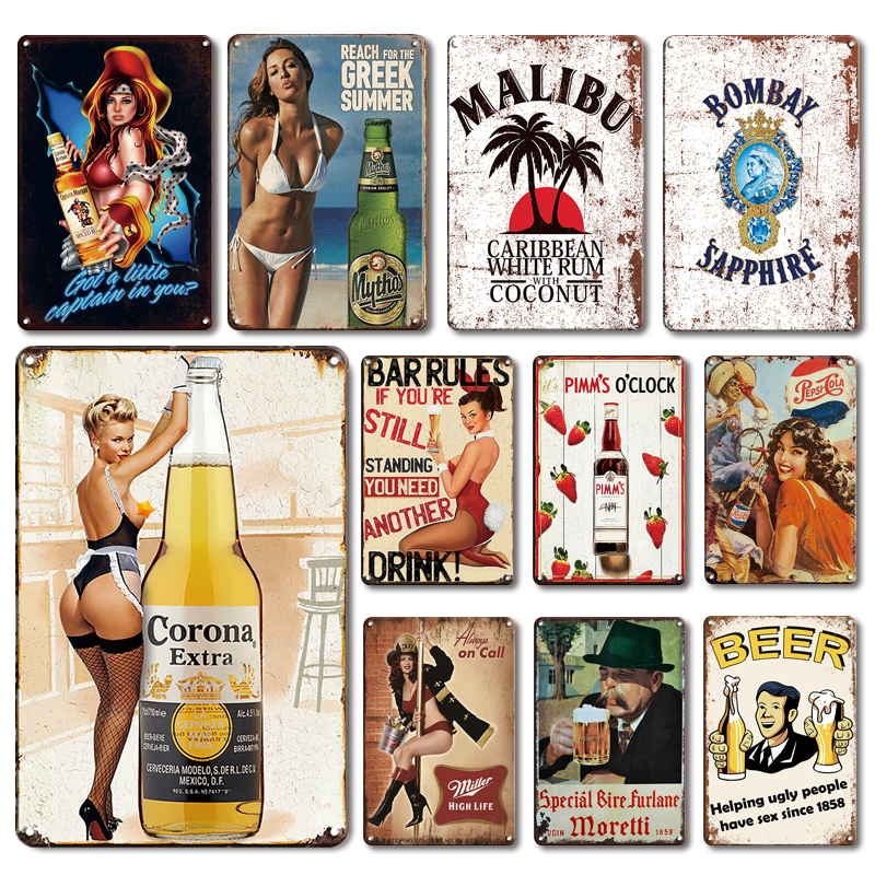 Classic Whiskey Metal Poster Tin Sign Vintage Ireland Beer Metal Plate For Bar Pub Wall Decor Plaques Kitchen Room Wall Signs