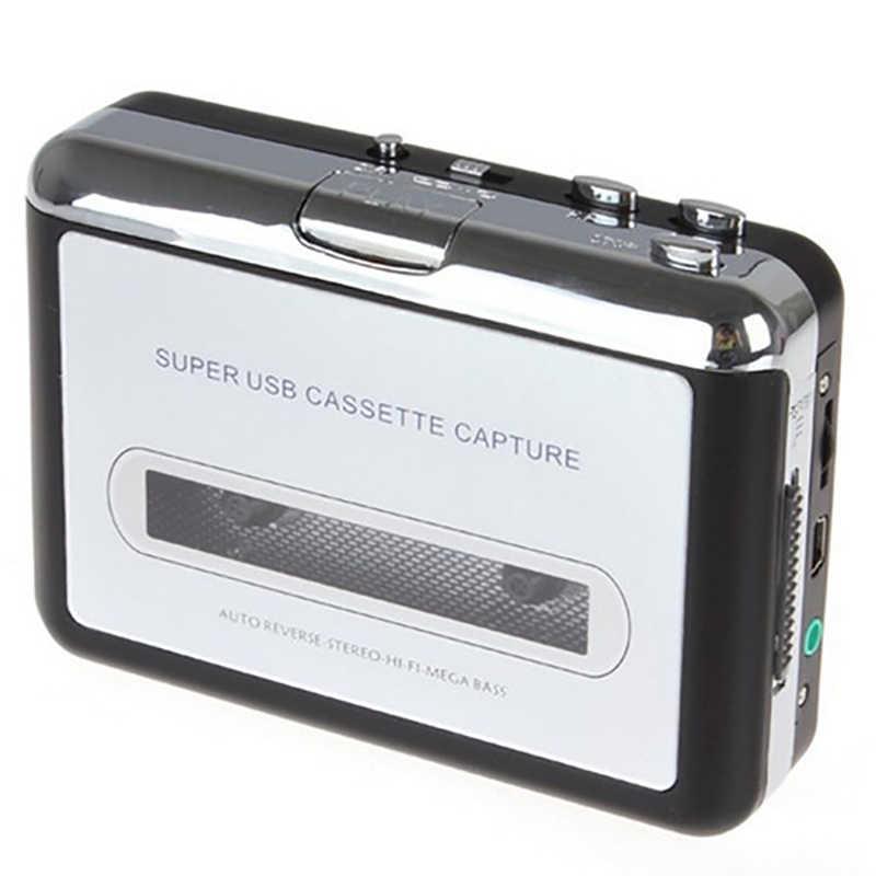 車のカセットプレーヤー USB カセットテープ充電 MP3 コンバータオーディオ音楽変換 kaset ポータブル再生テープ音キャプチャ