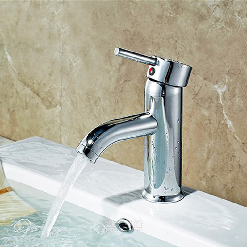Manufacturers Wholesale Basin Faucet Hot And Cold Mixing Faucet Glass Basin Faucet