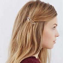 New Charm Hairpin Cute Hair Clip Brooch Pin Shape Women Girl Band Stylish Girls Accessories
