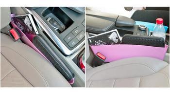 Dostępne 4 kolory torba do przechowywania w samochodzie box kieszeń w fotelu Catcher Space Save Store kolorowe schowek Tidying Car storage Organizer Box tanie i dobre opinie RETFGTU 10 5cm 35cm Tworzywa sztuczne