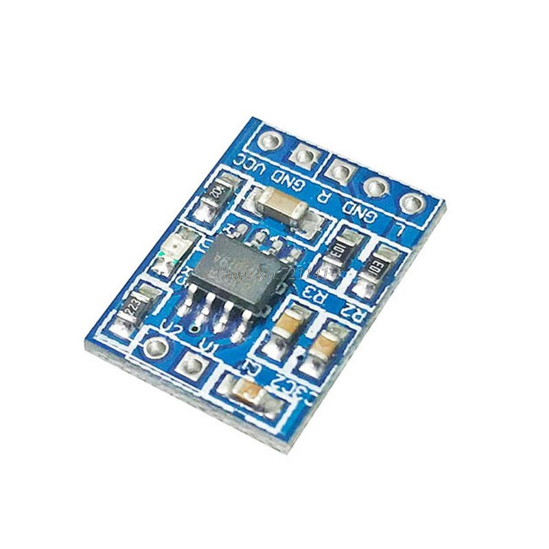 Super Mini HXJ8002 Power Amplifier Board 2.0-5.5V Mono Channel Amplifiers Module Voice Low Noise Maximum Distortion Is 0.5%