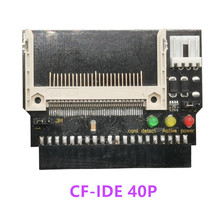 Adapter Converter Compact Flash CF to 3.5 Female 40 Pin IDE Bootable Card New Drop