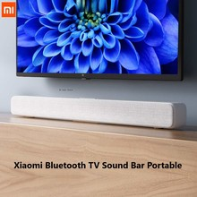 Hot  Xiaomi Bluetooth TV Sound Bar Portable Wireless Speaker Support Optical SPDIF AUX IN For Home Theatre Music Speakers