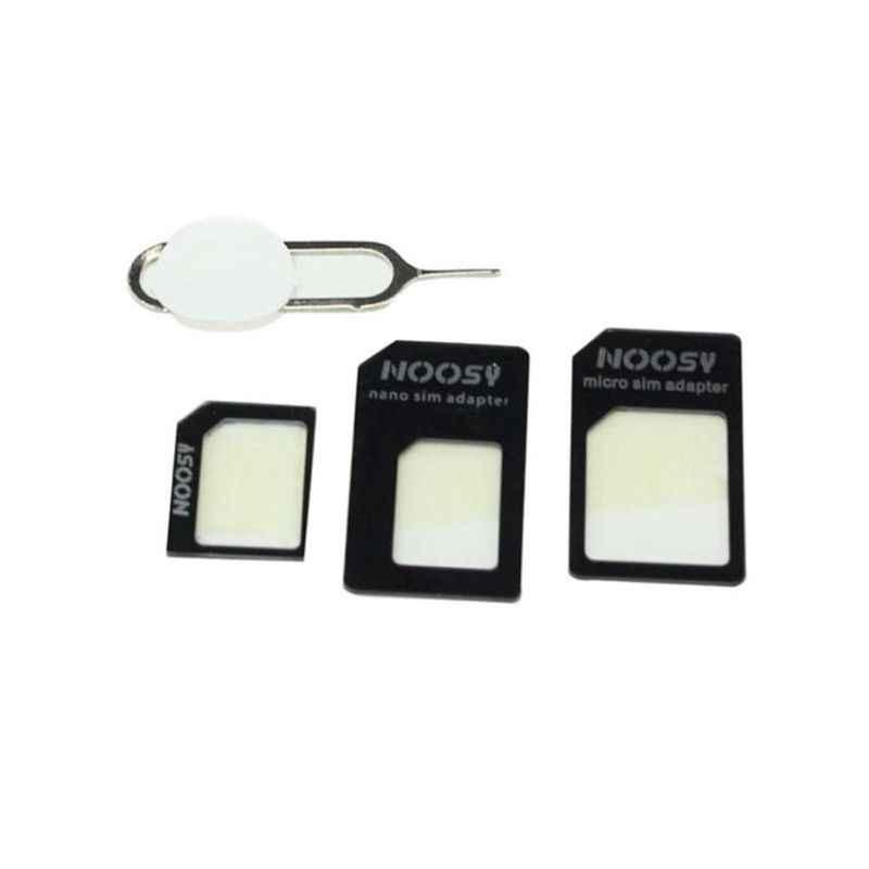4 In 1 Converteren Nano Sim-kaart Naar Micro Standaard Adapter Voor iPhone Voor Samsung 4G LTE USB Draadloze routerW91A