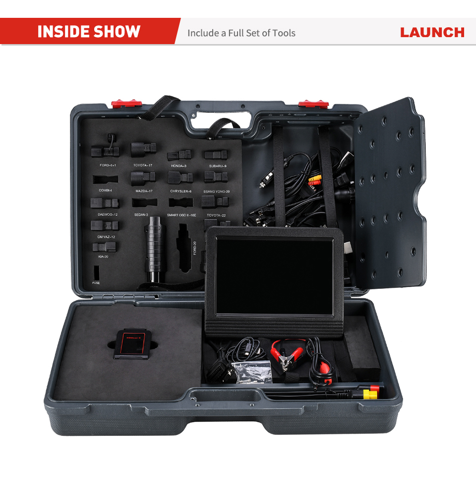 Image 5 - Launch X431 V+ Professional Car Diagnostic Tool OBD2 Car Scanner ECU Coding Active Test Auto Scan Tools PK X431 V PROEngine Analyzer   -
