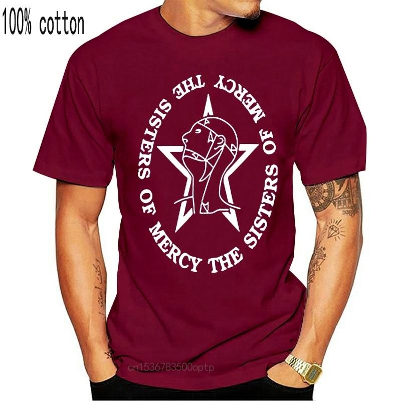 Одежда в стиле унисекс; Сестер футболка с надписью Мерси короткий рукав рок мужские женские нержав модели в традиционном стиле; Футболка