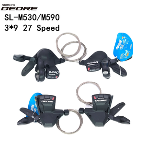 Image 1 - Shimano Deore 9 S Sl M520 M530 M590 St T660 Slx M660 9 S 27S 9 Speed Fiets Shifter lever Trigger Mtb Fiets Onderdelen Shifters Kabel