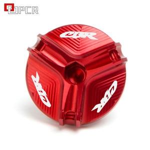 Image 3 - Oil Filler Cap Plug cover For Honda CBR600RR CBR954RR CBR1000RR CBR500R CBR250RR CBR 600 954 1000 RR CBR 250R 500R 1000S