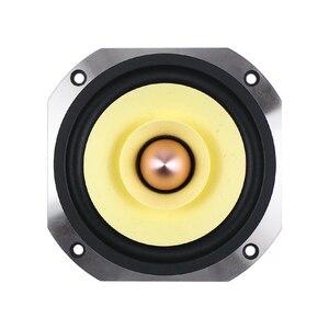 Image 2 - Ghxamp 4 بوصة كامل المدى المتكلم 4ohm 25 واط Hifi كامل التردد مكبر الصوت مسرح منزلي 91DB رصاصة المطاط حافة يلقي الألومنيوم 1 قطعة