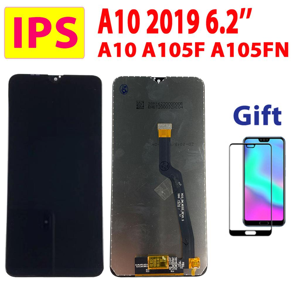 6.2'' IPS LCD For Samsung Galaxy A10 A105 <font><b>A105FN</b></font> LCD For Samsung M10 M105 Display Touch Screen Digitizer A105F Assembly LCD A10 image