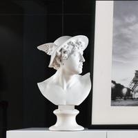 European David Figure Plaster Sculpture Ornaments Office Model Room Figurines Decoration Home Livingroom Table Furnishing Crafts
