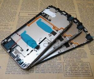 Image 3 - Cadre de support décran pour BlackBerry Dtek70 Keyone cadre avant boîtier de cadre moyen avec boutons latéraux de Volume dalimentation remplacer