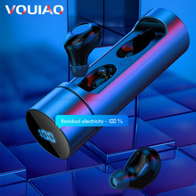 Wireless Bluetooth 5.0 Earphones Wireless Headphones Sport Handfree He