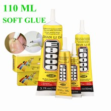 110ml E8000 Strong Liquid Glue Clothes Fabric Clear Leather Adhesive Jewelry Stationery Phone Screen Instant Earphone
