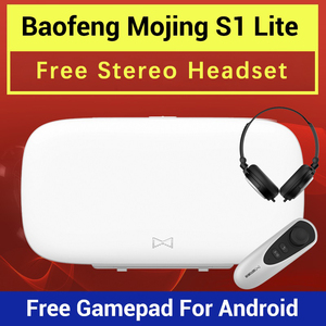 Image 1 - Новинка, 3d очки виртуальной реальности Baofeng Mojing S1, Очки виртуальной реальности, гарнитура виртуальной реальности 110 линзы Френеля + пульты дистанционного управления Bluetooth для смартфона