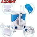 Familie Elektrische Munddusche Wasser Dental Flosser mit 4 Tipps 500ML Kapazität Wasser Jet Floss Zahn Pick Oral Bewässerung sauber