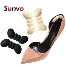 Sunvo обувь каблук прокладки для женщин высокий каблук обувь вставка стелька клей подкладка захват каблуки протектор наклейка стопа боль уход подушка